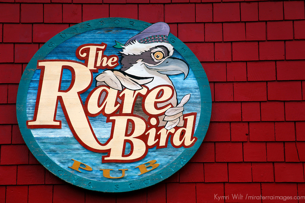 Canada, Nova Scotia, Guysborough. Rare Bird Pub in Guysborough.