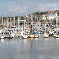 The marina at Boulogne, France