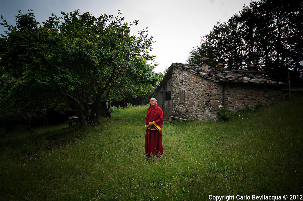 Goffredo. Hermit and pilgrim , he combines Taoism with the Franciscans. He loves living in the woods where he was born.<br /> He likes talk to animals and to be protected by the nature which is, for him, mother and secure refuge