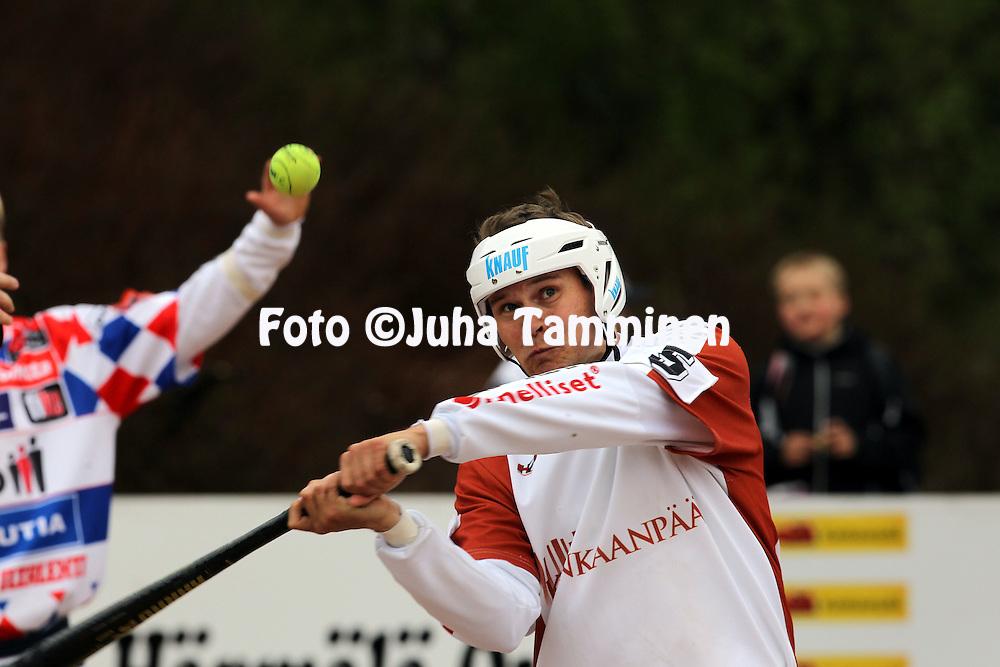 17.5.2011, Pohjanlinnan pesisstadion, Kankaanp??..Superpesis 2011, Kankaanp??n Maila - Jyv?skyl?n Kiri..Jukka Lankinen - KaMa.