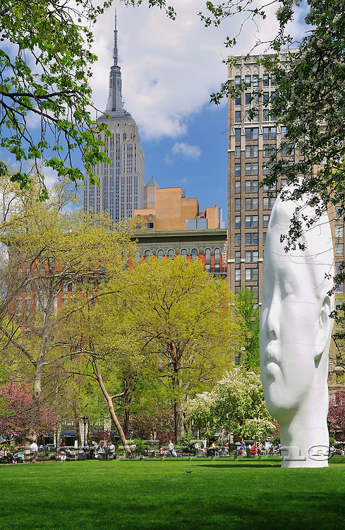 Echo Sculpture Featured in Madison Square Park