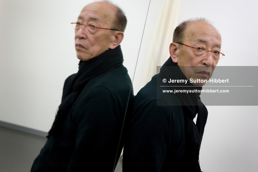 Japanese theatre director Yukio Ninagawa, in Tokyo, Japan, Friday 13th March 2009. Ninagawa's 'Twelfth Night' will play at the Barbican Centre in London, March 24th-28th 2009. Ninagawa was awarded a Honorary Officer of Commander of British Empire (C.B.E.) in 2002, is one of the artistic directors of the Shakespeare's Globe Theatre in London.