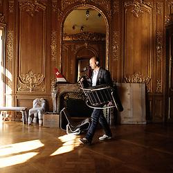 Swiss design furniture's sale at the Artcurial Gallery. Paris, France. 4/24/2009. Photo: Antoine Doyen