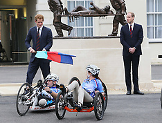 MAY 20 2013 Duke of Cambridge and Prince Harry at Help For Heroes Recovery Centre