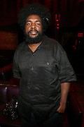 Questlove at An evening with Dave Chappelle for Kevin Powell for Congress held at Eugene's on July 9, 2008..Kevin Powell runs as a Democratic Candidate for Congress in Brooklyn's 10th Congressional District