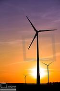 wind park, Burgenland, Austria