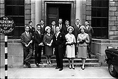 1963 -  Presentation of Admission Parchments at Solicitors Building