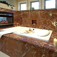 Bathroom in a private residence