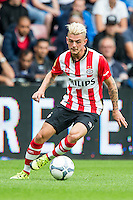 EINDHOVEN - PSV - FC Groningen , Voetbal , Seizoen 2015/2016 , Eredivisie , Philips stadion , 16-08-2015 , PSV speler Maxime Lestienne