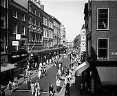 1971 - Grafton Street before and after being pedestrianised for a trial period.