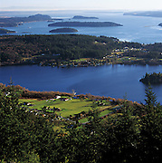 South Fidalgo Island is a storybook landscape of farm, lake, forest and nearby islands. (Benjamin Benschneider / The Seattle Times)