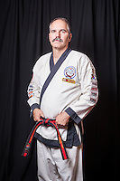 Karate photographs in Fenton, Michigan.