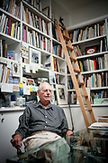 Painter Wayne Thiebaud poses for a portrait in his Sacramento, Calif. studio September 22, 2010.