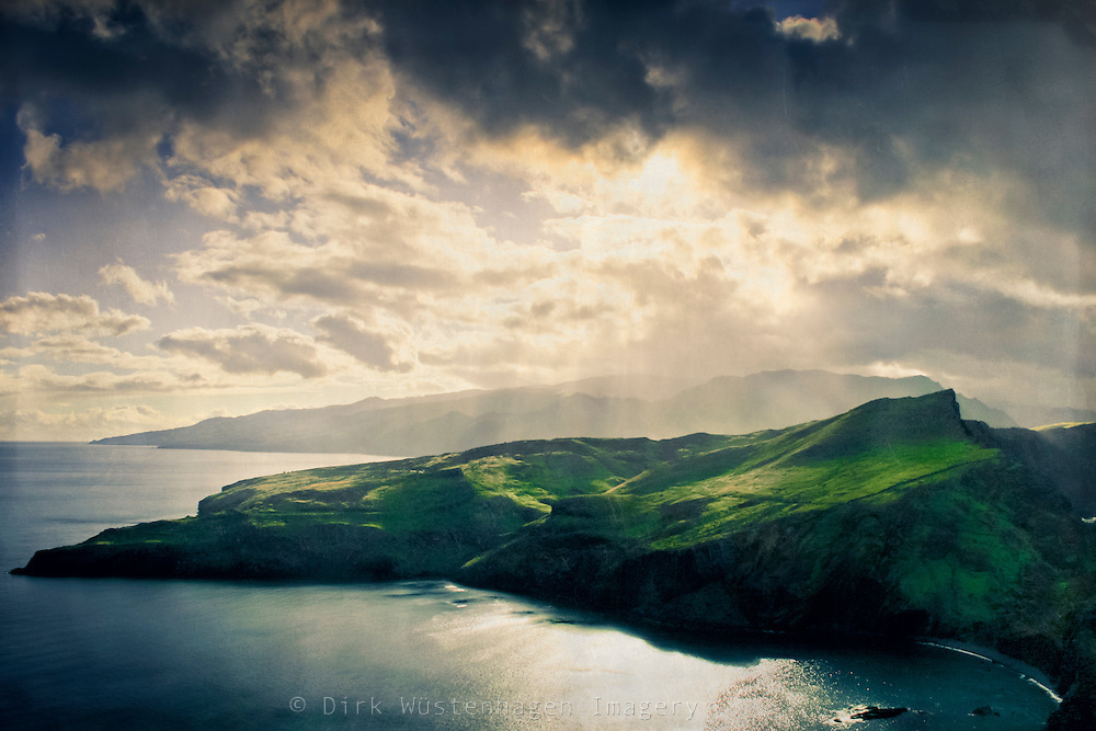 Evening light over the south western coast of the island Madeira, Portugal