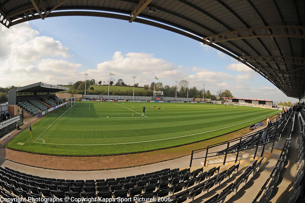Forest Green Rovers Ground, New Lawn Stadium | Kappa Sport ...