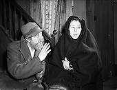 """1955 - Abbey Theatre scenes for """"Is The Priest At Home"""""""