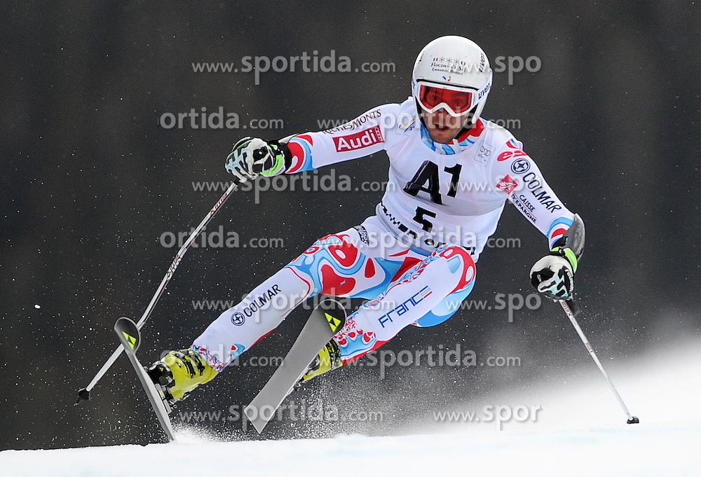 07.12.2014, Birds of Prey Course, Beaver Creek, USA, FIS Weltcup Ski Alpin, Beaver Creek, Herren, Riesenslalom, 1. Lauf, im Bild Thomas Fanara (FRA) // Thomas Fanara of France in actionduring the 1st run of men's Giant Slalom of FIS Ski World Cup at the Birds of Prey Course in Beaver Creek, United States on 2014/12/07. EXPA Pictures © 2014, PhotoCredit: EXPA/ Erich Spiess