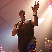 MANCHESTER, TN - JUNE 12:   Chuck D of Public Enemy performs at the 2009 Bonnaroo Music and Arts Festival on June 12, 2009 in Manchester, Tennessee. Photo by Bryan Rinnert/3Sight Photography