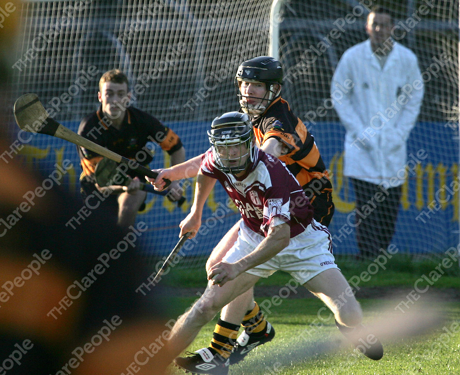 Tubbers John O'Connor and  St.Josephs/Doora/Barefields  no 26 not on the program in action during their Clare Senior Hurling Championship 2005 round 2 in Cusack Park Ennis.<br />