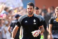 17.08.2016 - Villar Perosa - Vernissage -  Juventus A - Juventus B  nella  foto: Gianluigi Buffon - Juventus