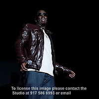 P. Diddy Sean John Combs Puff Daddy introducing Danity Kane performing at The Hammerstein Ballroom on May 28, 2008. .