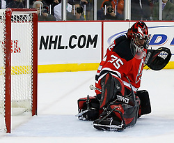 Jan 2, 2009; Newark, NJ, USA; during the first period at the Prudential Center.  Mandatory Credit: Ed Mulholland-US PRESSWIRE