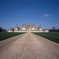 AA00388-02...FRANCE - Chateau de Chambord is the largest of the Loire Valley chateaus.