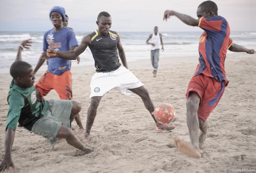 Beach Football - Accra, Ghana
