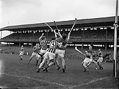 1957 National Hurling League Finals Kilkenny v Tipperary and Meath v Kerry