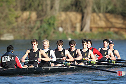 2012.02.25 Reading University Head 2012. The River Thames. Division 2. University of Warwick Boat Club A Nov 8+