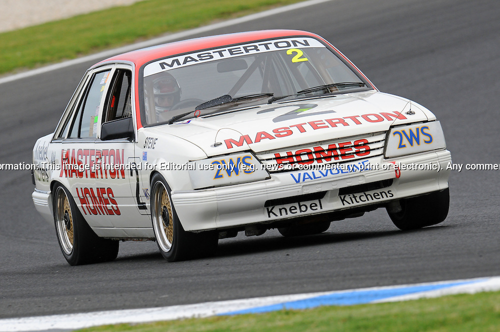 Jamie McDonald - Holden VK Commodore - Group C.Historic Motorsport Racing - Phillip Island Classic.18th March 2011.Phillip Island Racetrack, Phillip Island, Victoria.(C) Joel Strickland Photographics.Use information: This image is intended for Editorial use only (e.g. news or commentary, print or electronic). Any commercial or promotional use requires additional clearance.