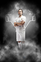 Luca Toni, campagna fotografica per Hellas Verona FC Game Kit Collection 2014-2015 per META-IDEA milano.