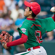 8/22/10 Aberdeen, MD: Mexico pitcher Gerardo Haro during the top of the fifth inning. Mexico Leads Ocala Florida 6-1 at The 2010 Cal Ripken World Series in Aberdeen MD.
