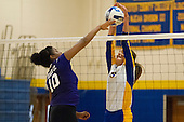 Rowan College at Gloucester County Women's Volleyball vs Bergen Community College- 19 September 2015
