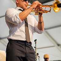 Irvin Mayfield at New Orleans Jazz & Heritage Festival 2014