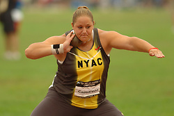 Shot Put-Camarena prepares to toss the shot.