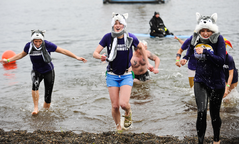 The 2012 Polar Plunge benefitting Special Olympics Washington was held this year at South Lake Union Park on Saturday, February 11, 2012.<br /> <br /> (Rod Mar for Special Olympics Washington)