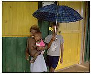 Sasavele Village.Rendova Island 29/06/05.The Solomon Islands