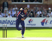 .13/07/2002.Sport - Cricket -NatWest Series Final- Lords.England vs India.Ronnie Irani.