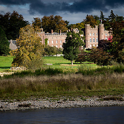 Scone Palace and the River Tay