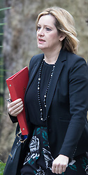 Downing Street, London, March 8th 2016. Energy Secretary Amber Rudd arrives for the weekly UK cabinet meeting at Downing Street. &copy;Paul Davey<br /> FOR LICENCING CONTACT: Paul Davey +44 (0) 7966 016 296 paul@pauldaveycreative.co.uk