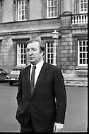 Charles Haughey, TD at Dail.09/11/1971