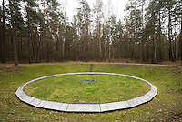 Paneriai is about 10km outside of Vilnius. Paneriai was the site of a massacre of 100,000 people (mostly Jews) from Vilnius during WWII. There is a well kept memorial there.