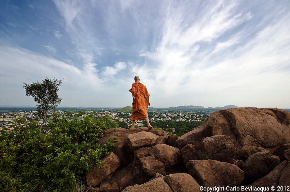 Ajatananda<br /> The High Tech Romenian Swami Of Arunachala<br /> He has been travelling through India for years to stop then in the sacred presence of Arunachala mountain at Tiruvannamalai, the famous pilgrimage center of South India. He studies and practice the traditional Advaita Vedanta philosophy. He is a follower of the Advaita Vedanta philosophy and of teachings of Sri Ramana Maharshi