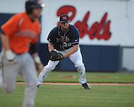 Mississippi's Aaron Barrett (30) vs. Auburn college baseball in Oxford, Miss. on Friday, May 21, 2010. (AP Photo/Oxford Eagle, Bruce Newman)
