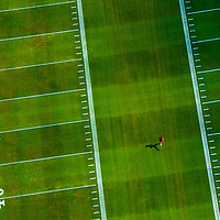 TAMPA, FLORIDA -- August 2013 -- Tampa Buccaneers practice at One Buc Place.   (PHOTO / CHIP LITHERLAND)