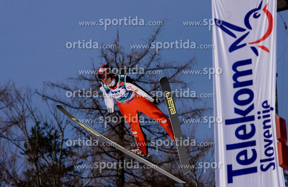 KRANJEC Robert, SK Triglav Kranj, SLO  competes during Flying Hill Individual Third Round at 3rd day of FIS Ski Flying World Championships Planica 2010, on March 20, 2010, Planica, Slovenia.  (Photo by Vid Ponikvar / Sportida)