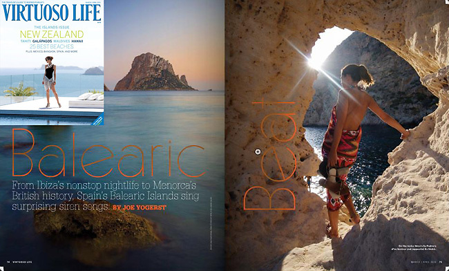 Balearic Beat Feature @ Virtuoso Life / March - April Issue 2010