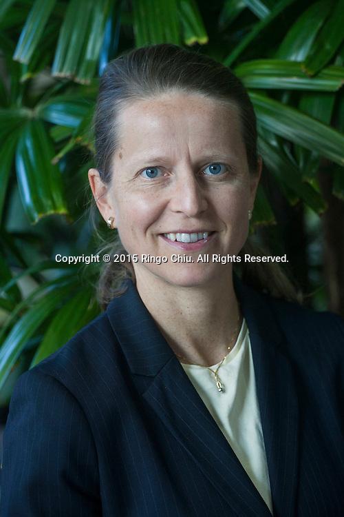 Kati Suominen, founder/chief executive of TradeUp Capital Fund. (Photo by Ringo Chiu/PHOTOFORMULA.com)