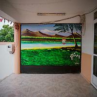 The island of Mauritius.